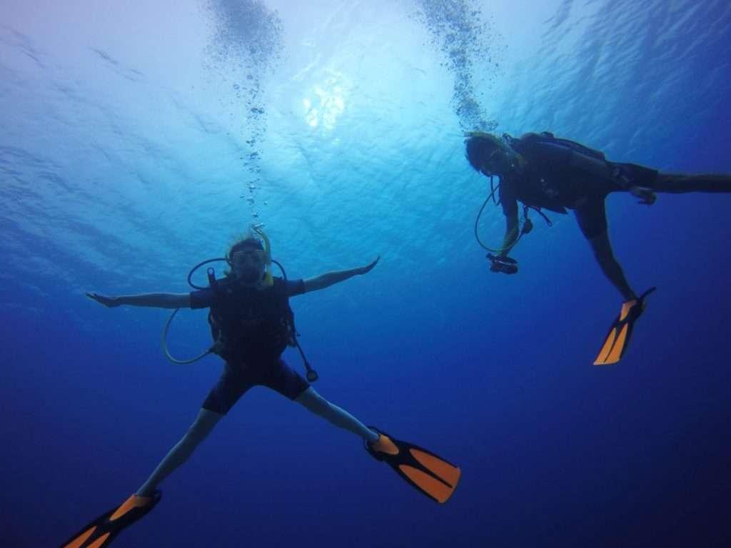 体験ダイビングが怖かった方へ