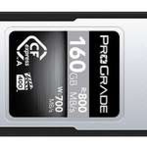 ProGrade Announces 160GB CFexpress Type A Card