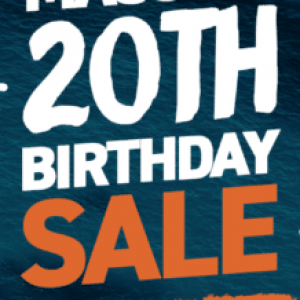 Adreno Freediving Holding 'Massive' 20th Birthday Sale