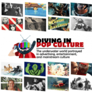 History of Diving Museum Has a New 'Diving In Pop Culture' Exhibit