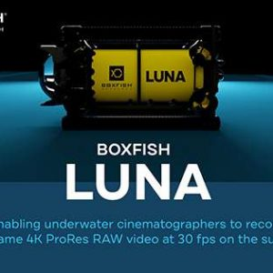 Boxfish Luna Underwater Drone offers 4K ProRes Raw