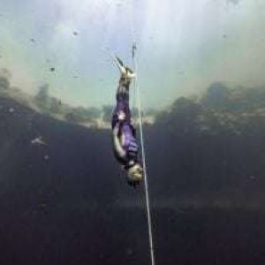 Video: Alenka Artnik Shatters Glass Ceiling with New 120m Freediving World Record at Vertical Blue 2021